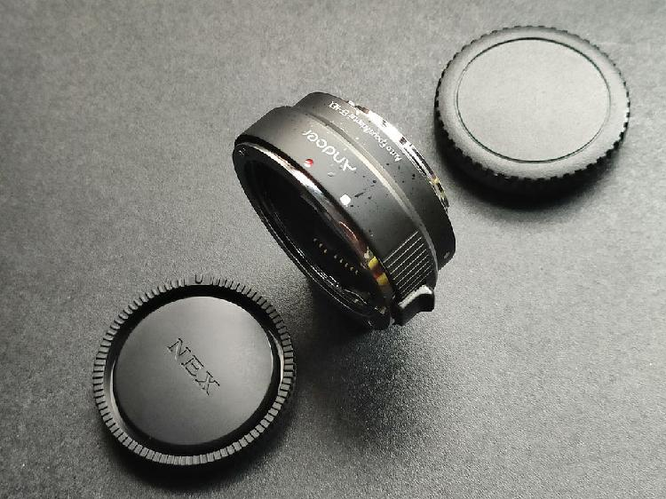 Adaptador autofoco de objetivos canon eos a sony e