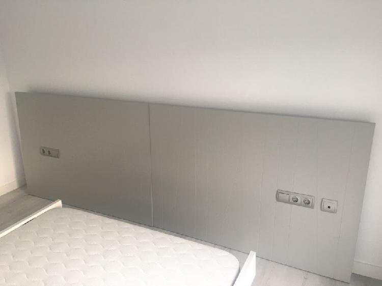 Cabezal cama matrimonio con iluminación sensor led