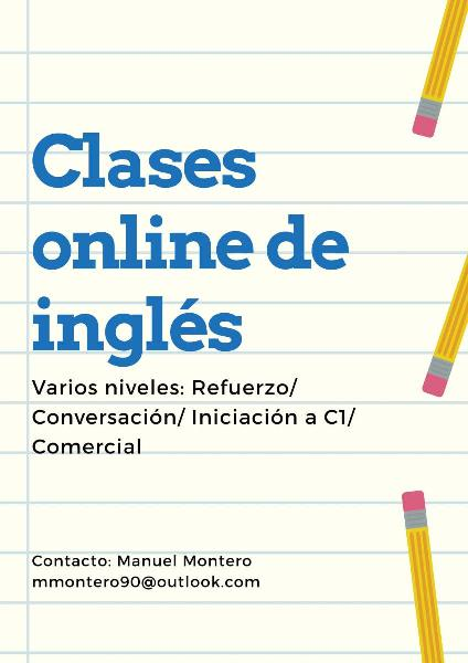 Clases de inglés online