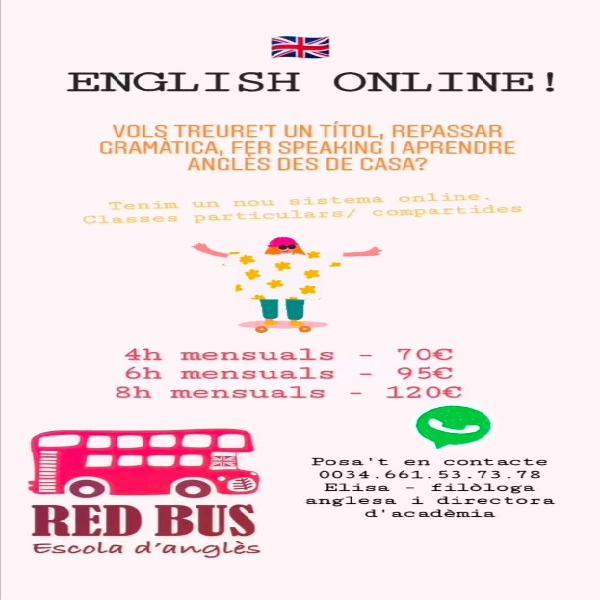 Classes inglés online