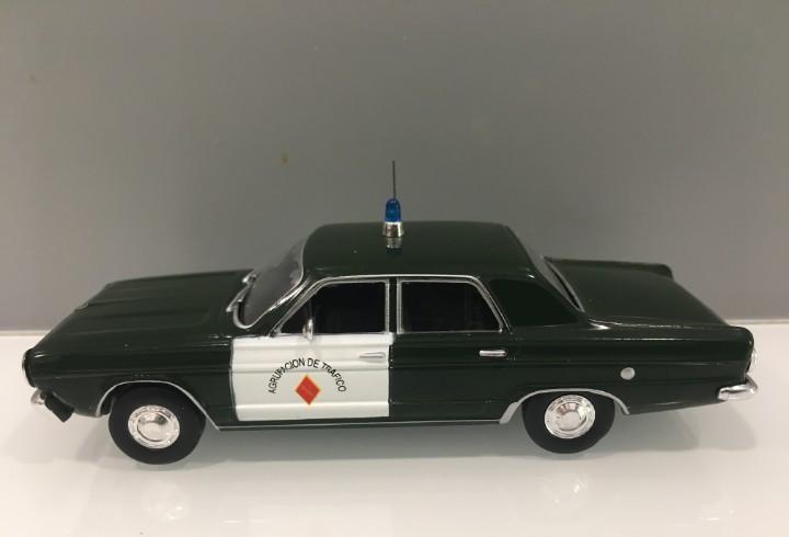 Coche guardia civil dodge año 1966. agrupación de tráfico