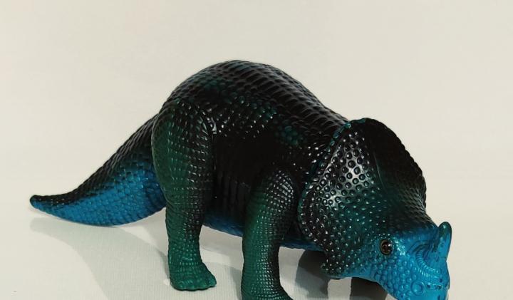 Dinosaurio tyco toys 1987