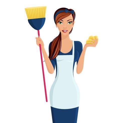 Empleada hogar o limpiadora