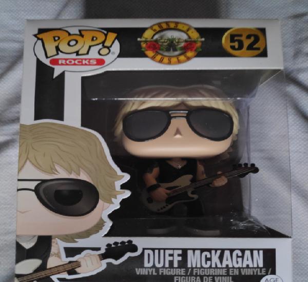 Figura funko pop duff mckagan guns n roses nuevo