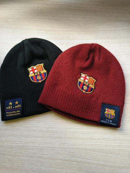 Gorro fcb fútbol club barcelona. producto oficial