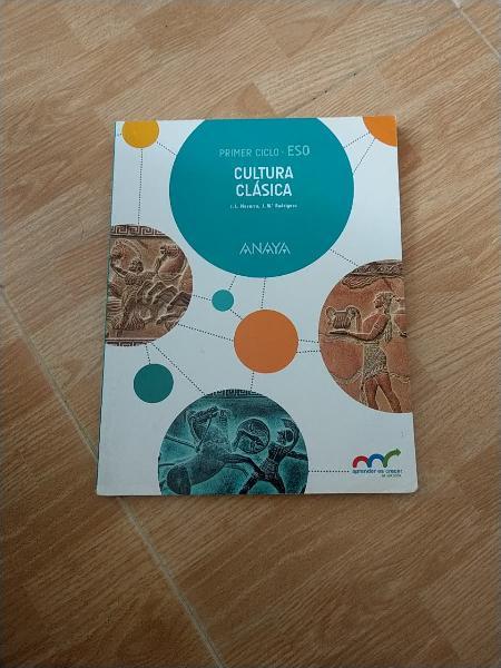 Libro cultura clásica 2 eso