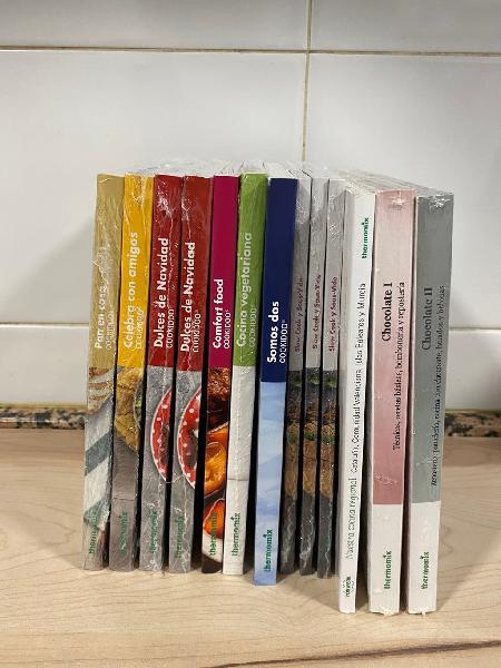 Libros de bolsillo nuevos thermomix