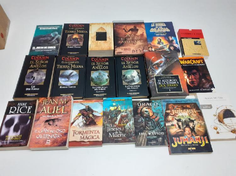 Lote de libros variados
