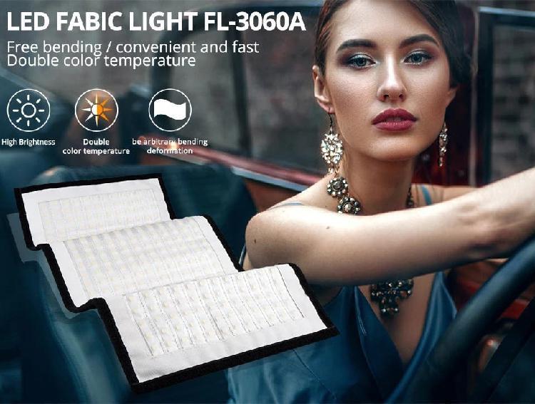 Luz led para vídeo o foto fl-3060a