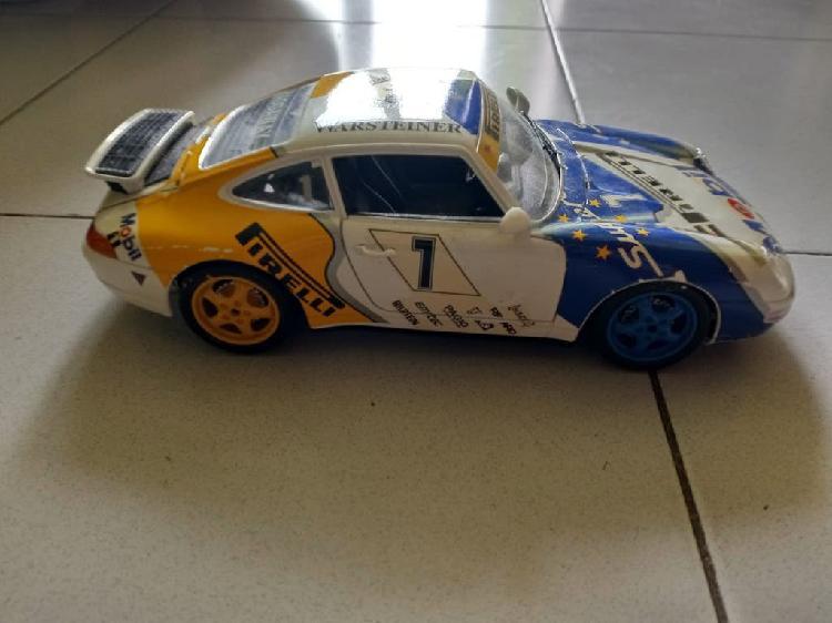 Maqueta porsche 911 carrera de metal