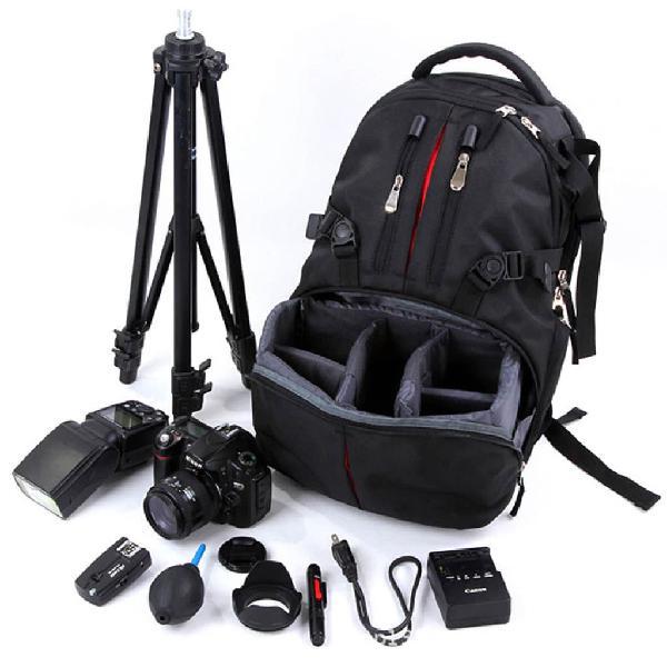 Mochila para equipo fotográfico, cámaras etc.