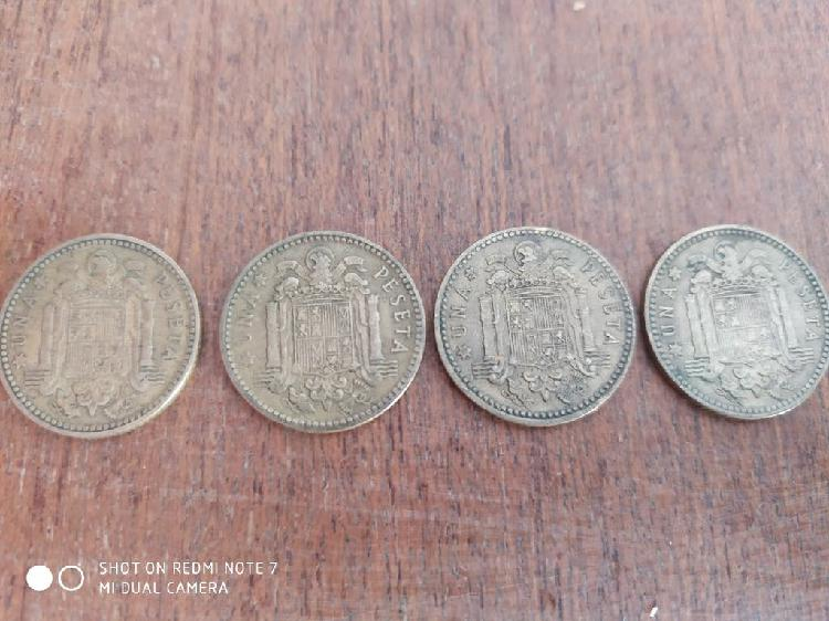 Monedas 1 pts franco 1963