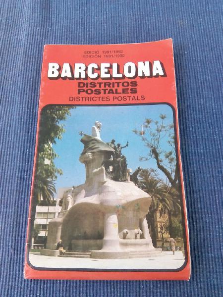 Plano de barcelona 1992