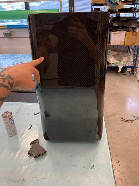 Reparaciones en fibra de vidrio y carbono