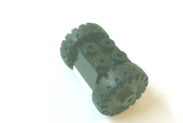 Tente autentico juego de ruedas 22 mm. de ø completo
