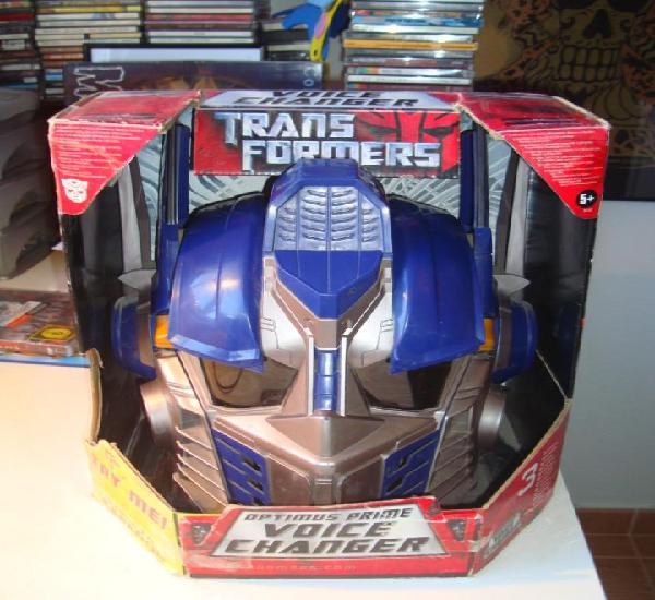 Transformers optimus prime voice changer - hasbro 2006 casco