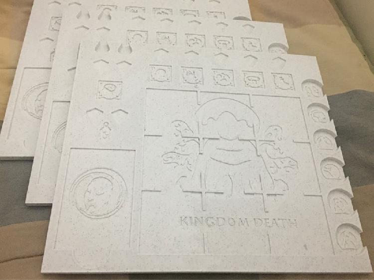 Tableros kingdom death monster x3