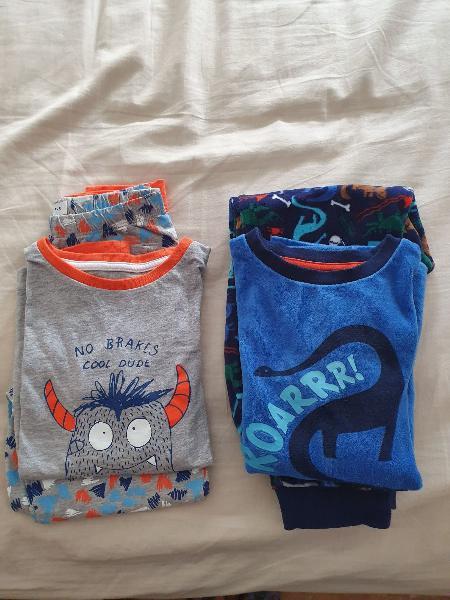 Par de pijamas niño marca tex