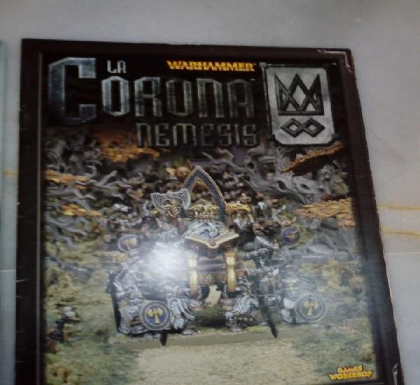 Suplemento codex campaña libro ejercito la corona nemesis