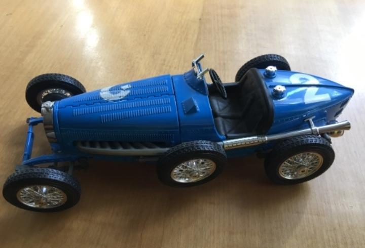 Bugatti type 59 1934 burago escala 1/18