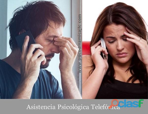 Asistencia psicológica telefónica (toda españa)