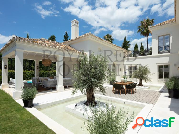Marbella, golden mile, villa