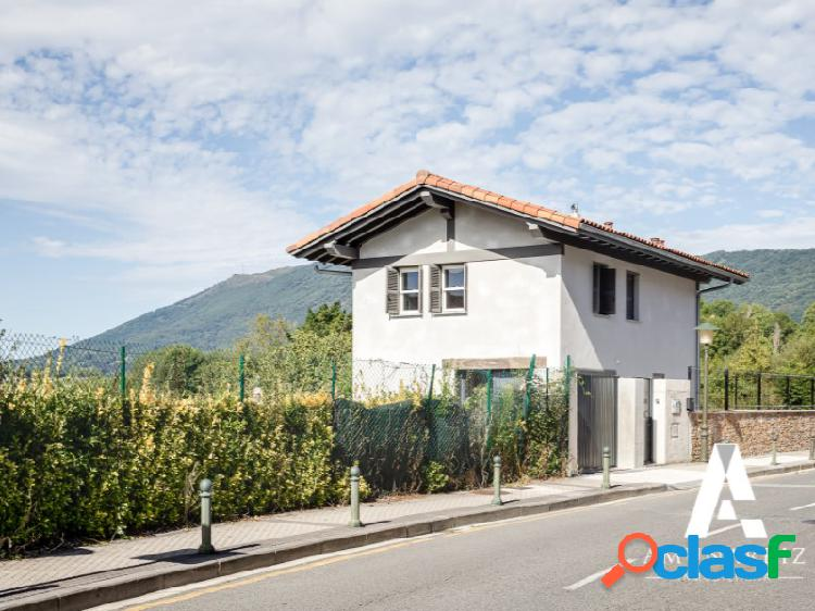 Casa de nueva construcción en amute con estupendas vistas al monte jaizkibel