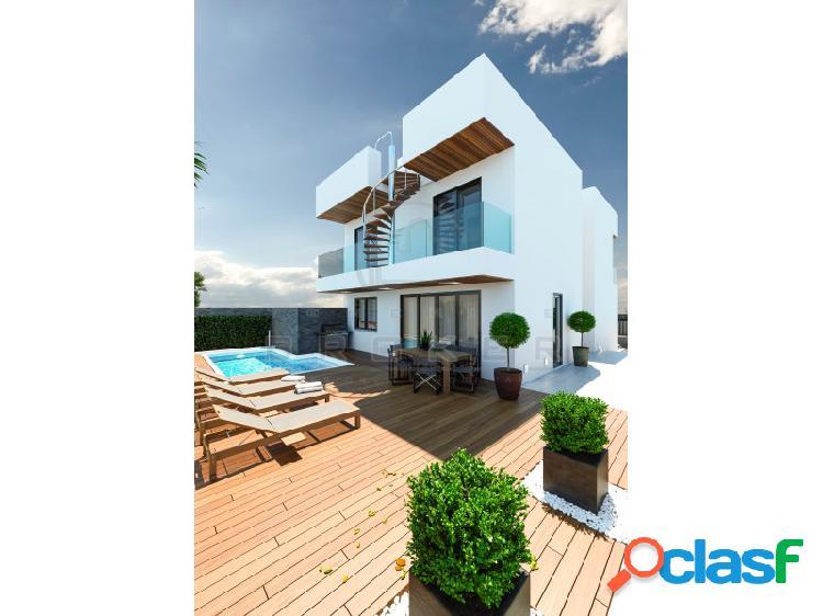 Nuevo proyecto de 6 chalets unifamiliares de estilo moderno en una zona residencial.