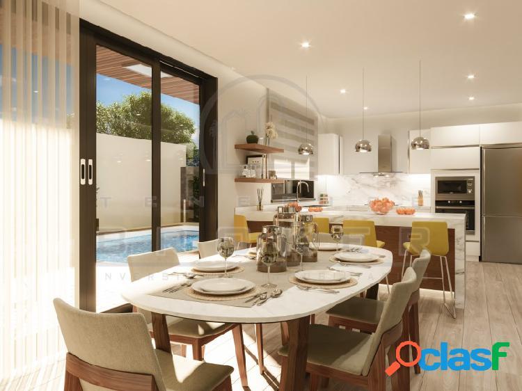 Nuevo proyecto de 6 chalets unifamiliares de estilo moderno en una zona residencial. 1