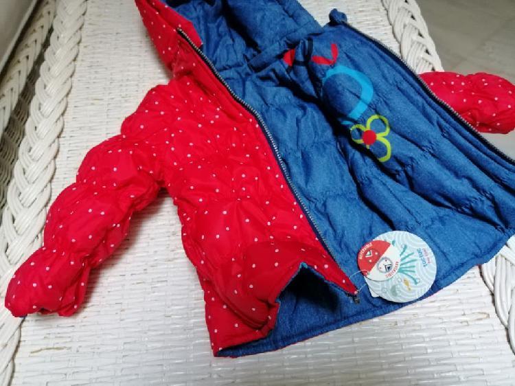 Abrigo reversible bebé tuc tuc