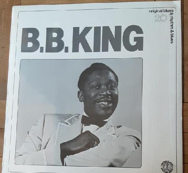 B.b. king - original blues & rhythm & blues 20 / lp doblon