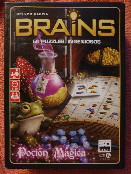 Brains poción mágica 50 puzzles ingeniosos sd