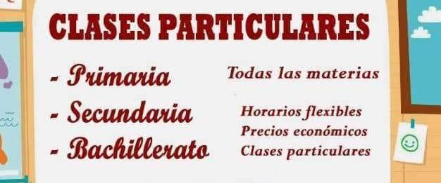 CLASES DE APOYO Y REFUERZO