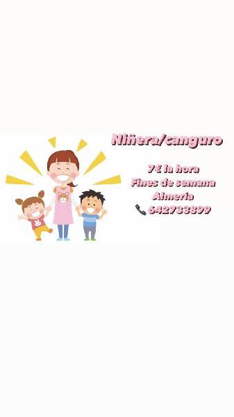 Canguro/ niñera