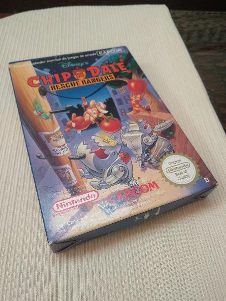 Chip and dale, chip y chop nintendo nes nese ness.