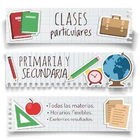 Clases particulares matemáticas, inglés...