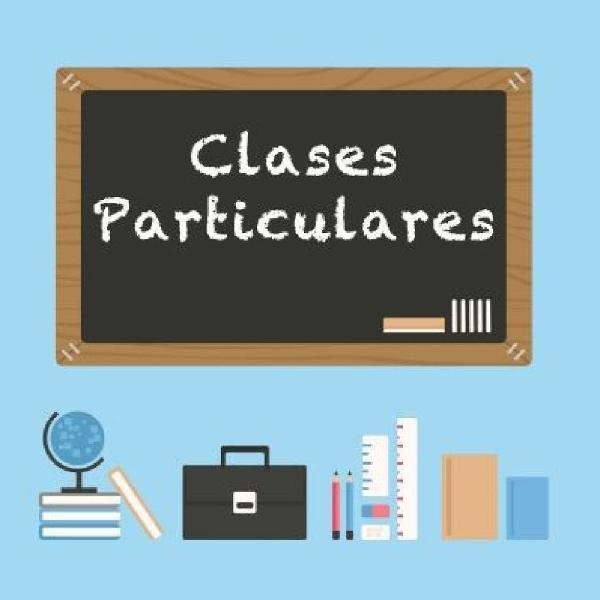 Clases particulares (primaria, eso, bach)