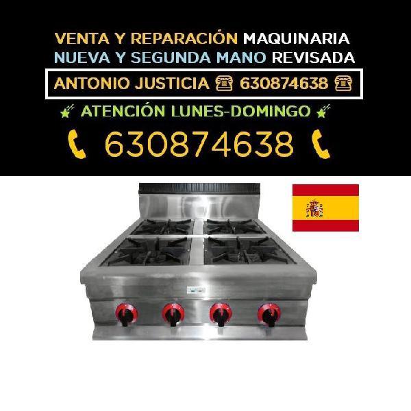 Cocina gas inox 2,4,6,8 fuego nueva y segunda mano