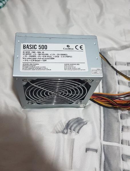 Fuente alimentación 500w coolbox
