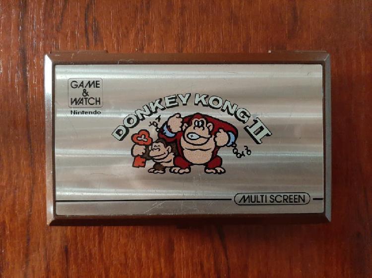 Game & watch donkey kong ii nintendo