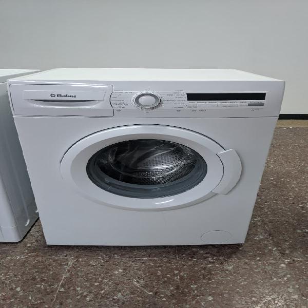 Lavadora balay 6kg 1000rpm bajo consumo