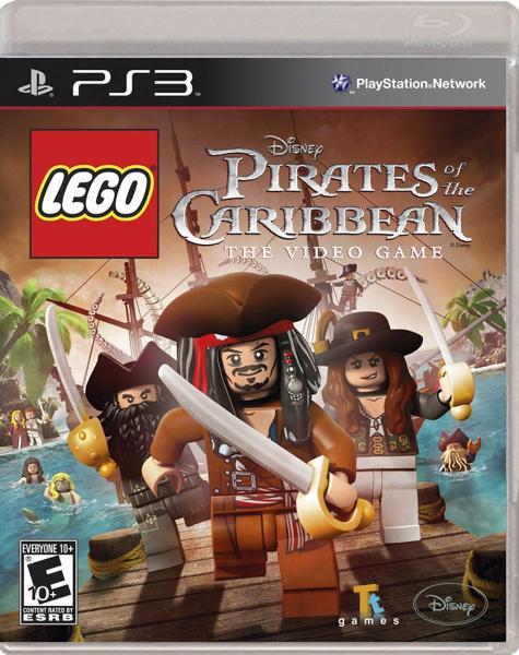 Lego piratas del caribe para ps3.