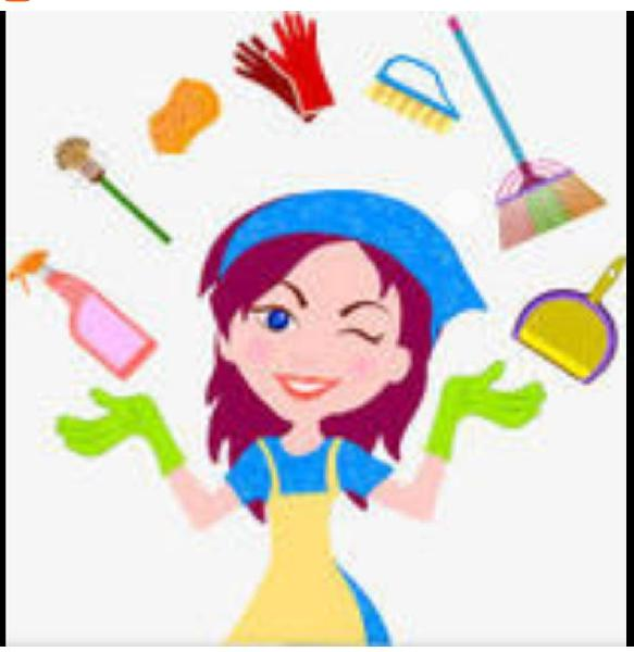 Limpiezas tareas del hogar