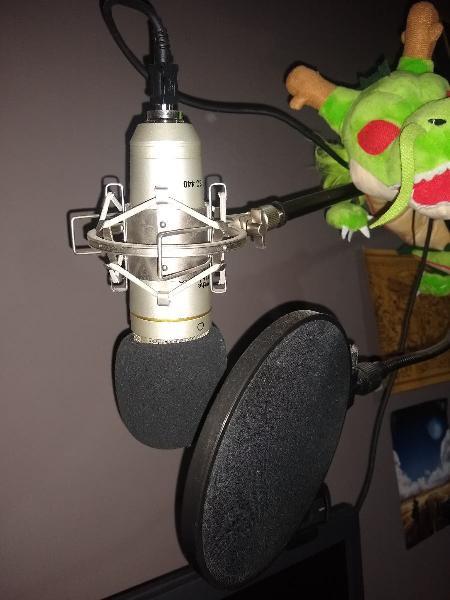 Micrófono para stremear, podcast o cante.