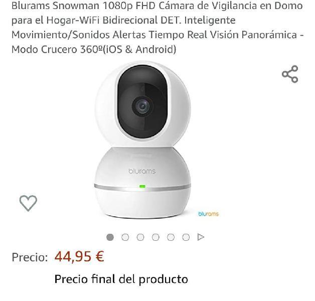 Nuevo] 1080p fhd cámara de vigilancia en domo