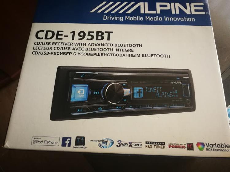 Radio cd/usb con bluetooth® alpine cde-195bt