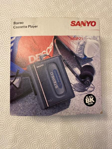 Sanyo mgp21 stereo cassette player