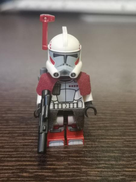 Figura lego star wars arc trooper sw377