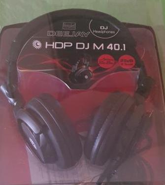 Auriculares hercules hdp dj m 40.1 como nuevo
