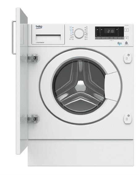 Beko hitv8733b0 - lavadora secadora integrable 8kg lavado